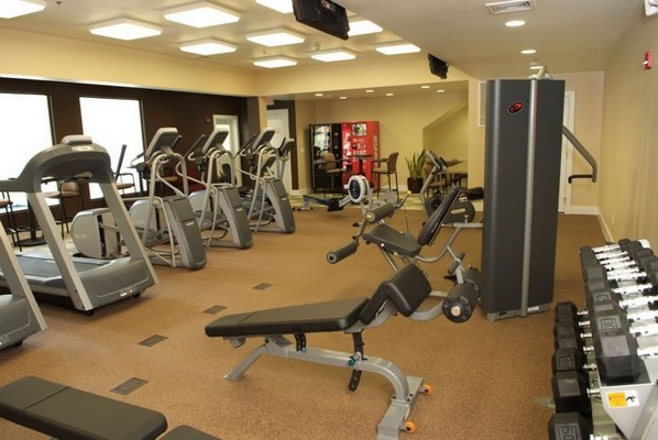 Fitness center with exercise machines.. Click to view the photo gallery.