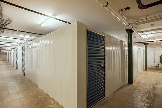 Additional storage lockers