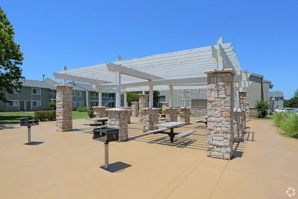 Outdoor grilling and patio area. Click to view the photo gallery.