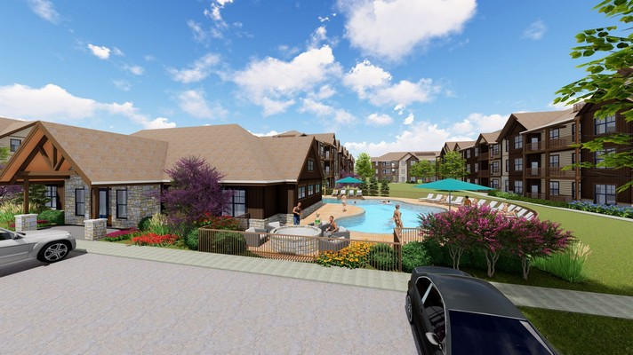 Clubhouse and pool. Click to view the photo gallery.