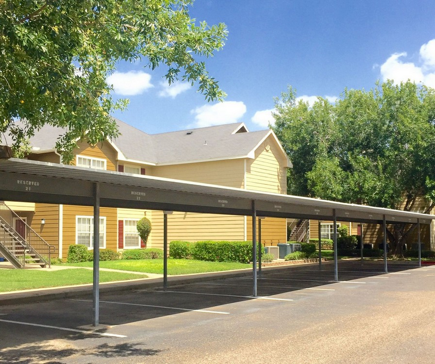 Carport on property
