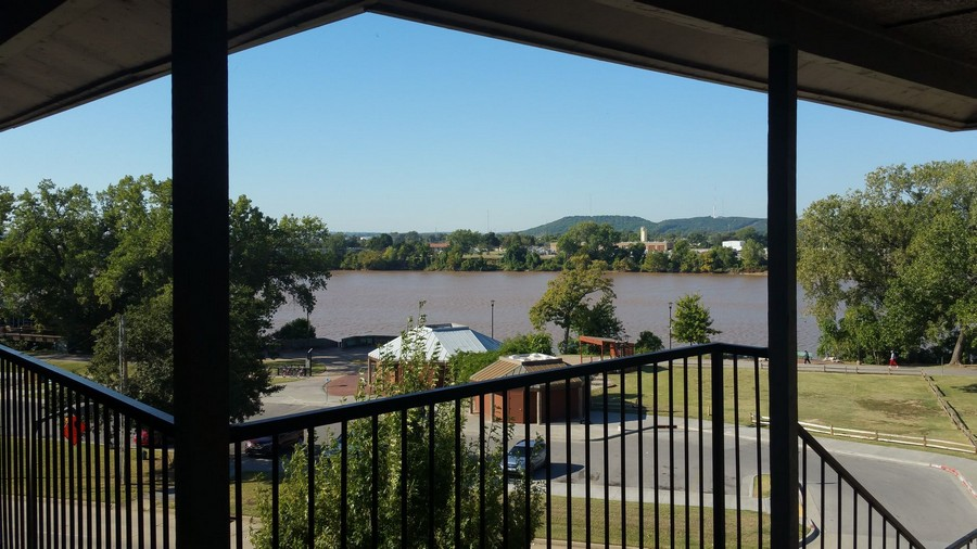 View from private patio