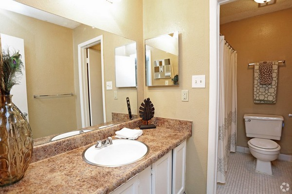 Bathroom with vanity. Click to view the photo gallery.