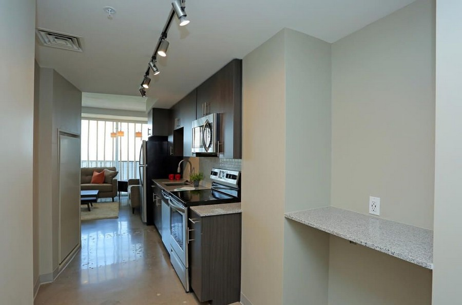 Kitchen and built in shelving