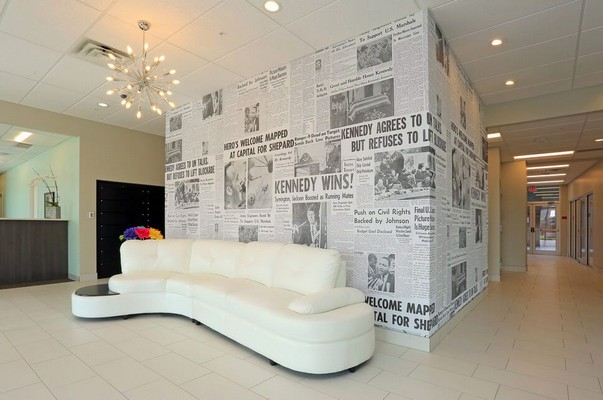 Seating in main lobby. Click to view the photo gallery.