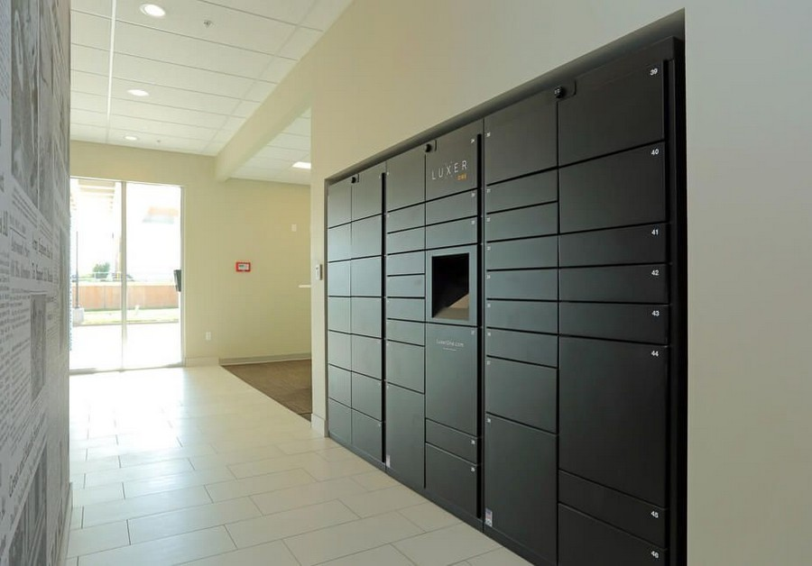 Package lockers