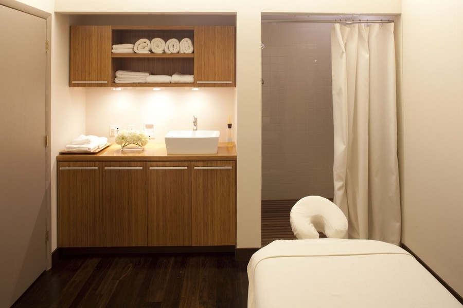 resident massage room and spa