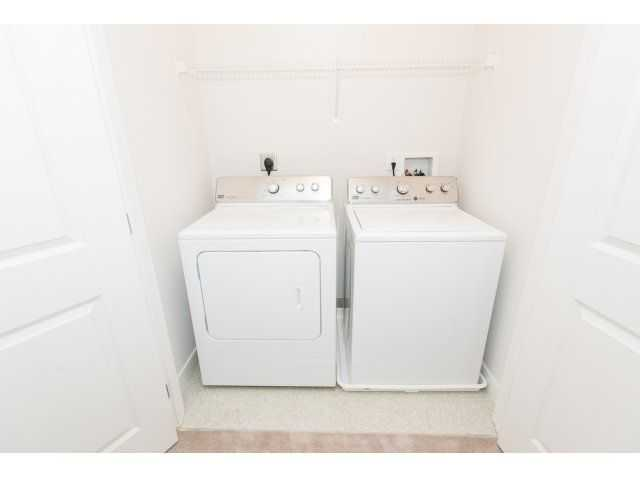 full-sized, in-unit washer and dryer. Click to view the full size image.