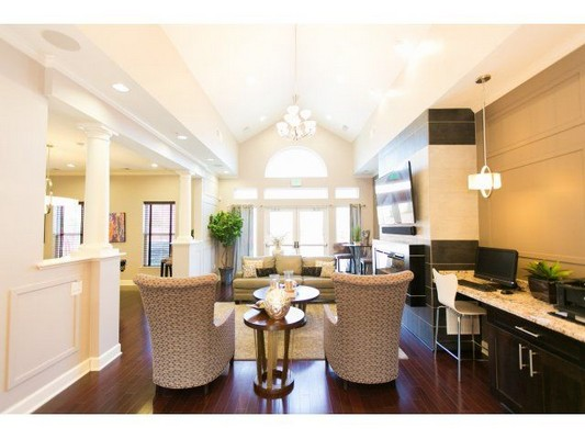 view of resident clubhouse. Click to view the photo gallery.