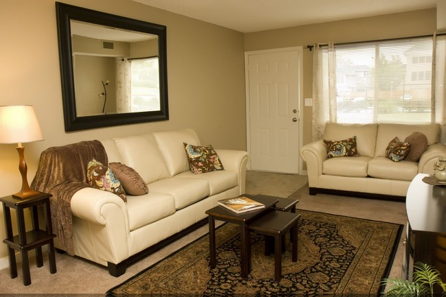 Living room with seating