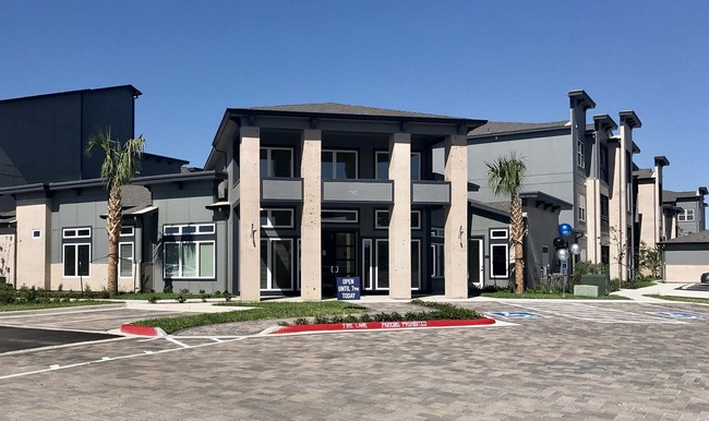 Outside view of leasing office