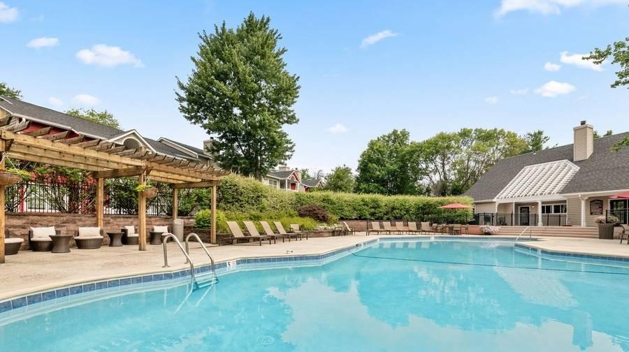 pool with lanai