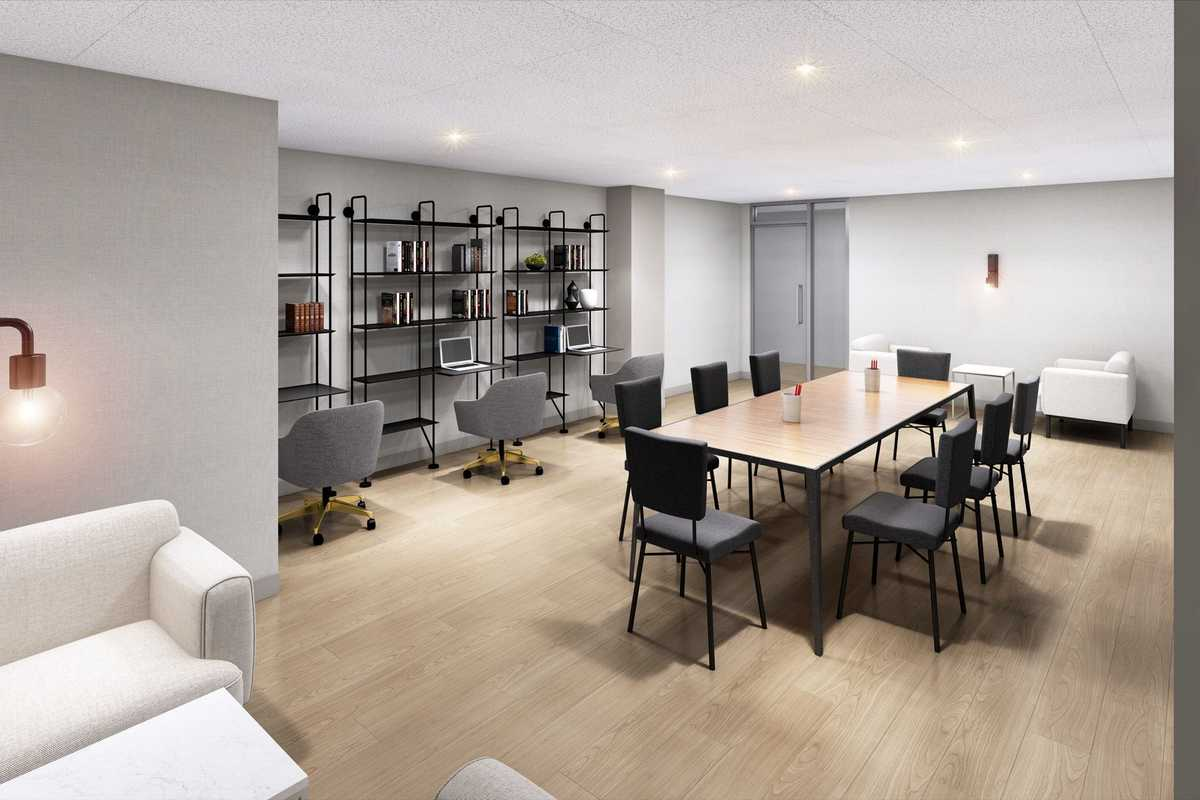 New York Manhattan Apartments with Coworking Space