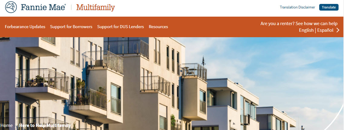 Fannie Mae Multi-family financing