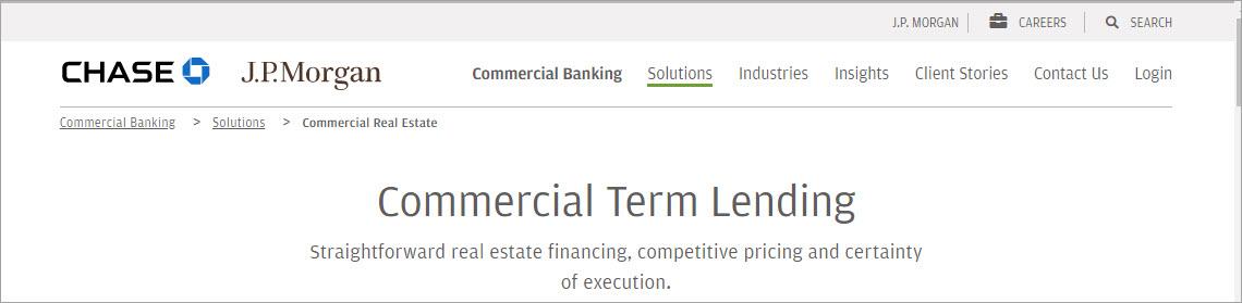 JP Morgan Commercial Banking